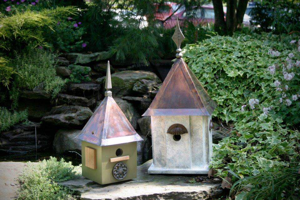 Darling Birdhouses At Merrifield Garden Center. Photo By Merrifield Garden  Center.